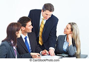 team., 商业