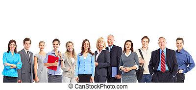 team., 商業界人士