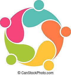 Team 5 community circle interlaced