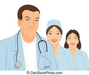 team, artsen