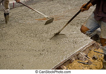 Team at the cement floor.2