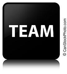 Team black square button