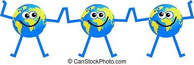 team globe