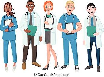 team, goed, artsen