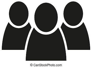 team group of people flat icon vector