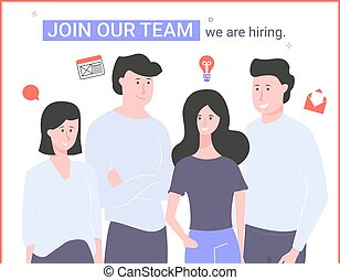 team., hiring., 私達, 参加しなさい, 私達の