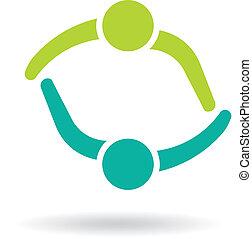 Team Meeting 2 Design logo.