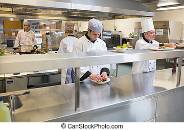 Team of Chef's at work