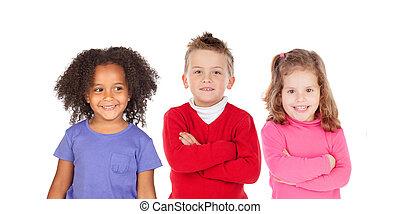 Team of children