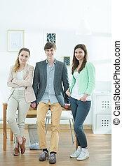 Team of creative designers