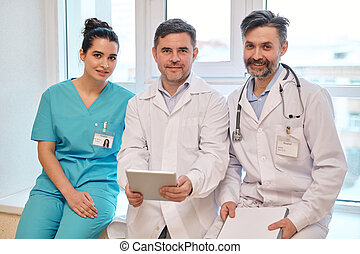 Team of experienced medical staff