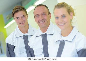 team of interior decorators