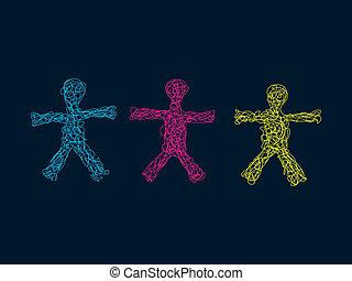 Team of Three