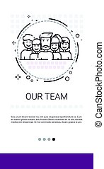 Team People Work Group Management Business Leadership Banner