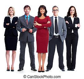 team., pessoas negócio