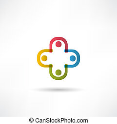 team, pictogram