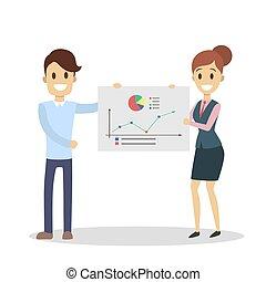 team., présentation, business