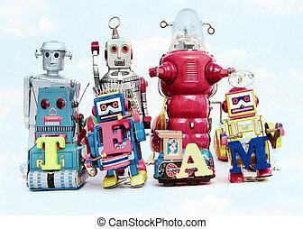 team robots