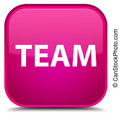 Team special pink square button