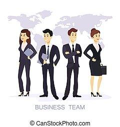 team., vrijstaand, zakelijk