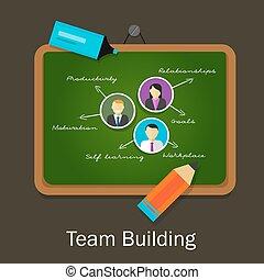 team work building human resource recruitment