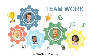 Team work business system.