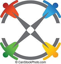 team work compass