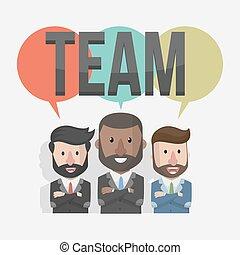 team working businessmen business i