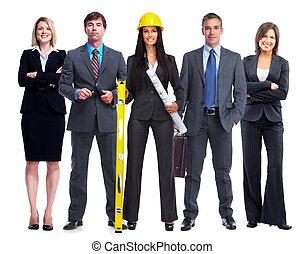 team., zakenlui