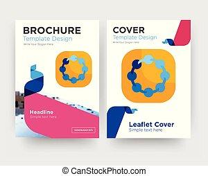 teamspirit brochure flyer design template