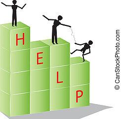 teamwork blocks help