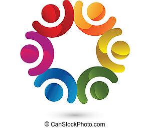 Teamwork business company logo