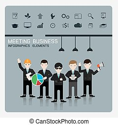 teamwork business Concept of Group