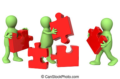 Teamwork - Conceptual image - success of teamwork