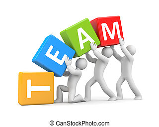 teamwork clipart and stock illustrations 210 356 teamwork vector rh canstockphoto com clip art teamwork pictures clipart teamwork pictures