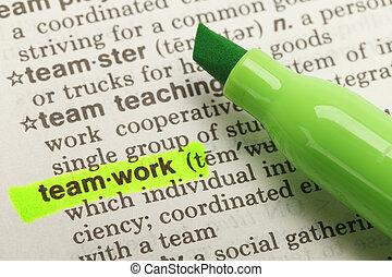 Teamwork  Definition
