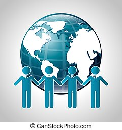 teamwork design , vector illustration
