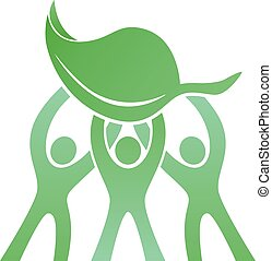 Teamwork Eco Friendly Logo