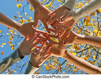 teamwork, etniczny