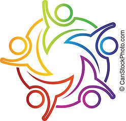 Teamwork Hi 5 lineal logo