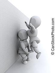 Teamwork - Image showing teamwork