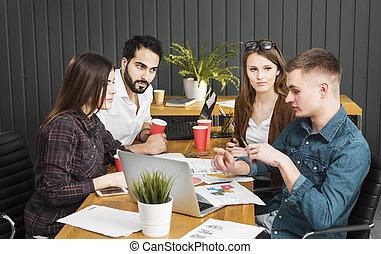 Teamwork in Office