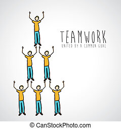 teamwork, konstruktion