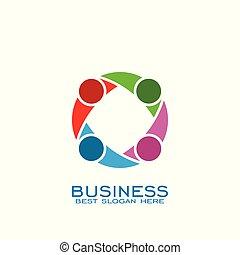 Teamwork logo design,
