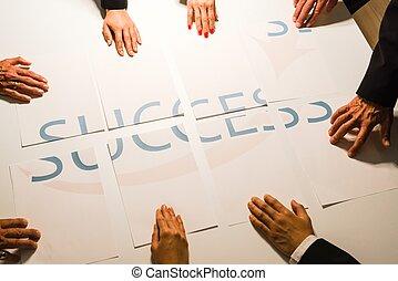 Teamwork means Success - BUT