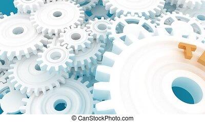 teamwork., mechanism., metaphor., collaboration, précis, ...