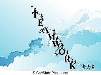 Teamwork Mountain