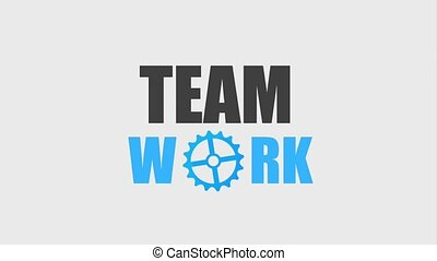 teamwork people animation hd
