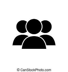 Teamwork people pictogram