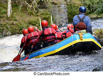 teamwork raft